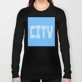 Manchester City 2018 - 2019 Long Sleeve T-shirt