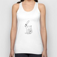 brave Tank Tops featuring Brave by Los Carlos