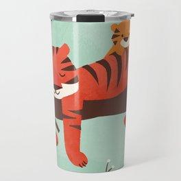 Sleeping Tiger Travel Mug