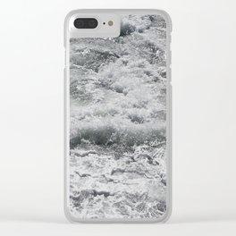 Salty Milkshake Clear iPhone Case