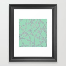 Trapped Mint Framed Art Print