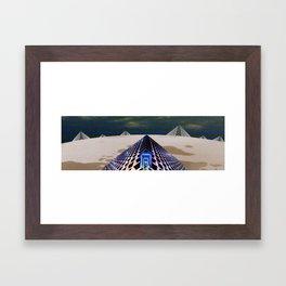 The Ruin Framed Art Print