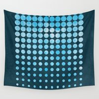 snow Wall Tapestries featuring Snow by Last Call