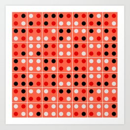 Dominoes Art Print