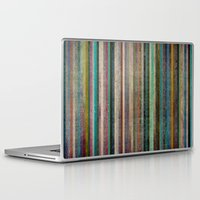 striped Laptop & iPad Skins featuring Striped by Sharon Johnstone