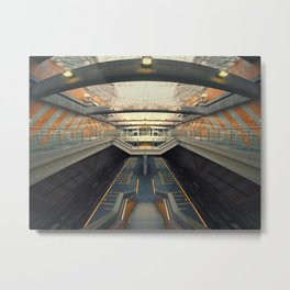 Petare Subway Metal Print