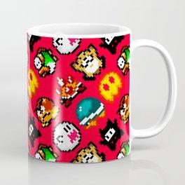 Super Mario World | Enemies Pattern | Red Coffee Mug