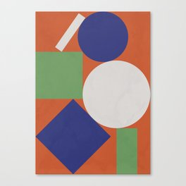 Geometry I Canvas Print
