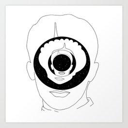 hypnosis of love Art Print