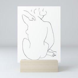 Henri Matisse Seated Nude 1949 Original Artwork - Wall Art, Prints, Posters, Canvas, Tshirts, Men Wo Mini Art Print