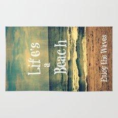 Life's a Beach Rug
