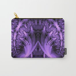 Purple dragonflies Abstract Carry-All Pouch