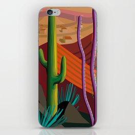 Cactus on Mountaintop iPhone Skin
