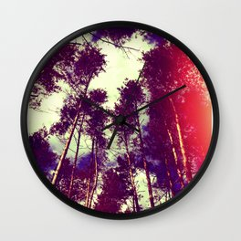 There is a pleasure in the pathless woods... Wall Clock