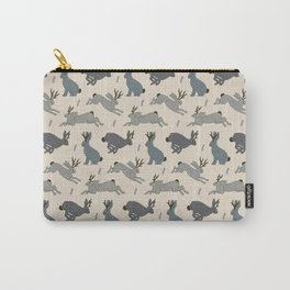 Jackalope Snow Parade Carry-All Pouch