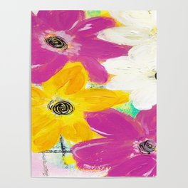 Every Day Floral Poster