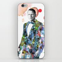 bond iPhone & iPod Skins featuring Bond, James Bond by NKlein Design