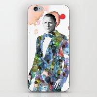 james bond iPhone & iPod Skins featuring Bond, James Bond by NKlein Design