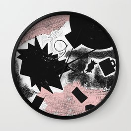 Death of Arthur Miller Wall Clock