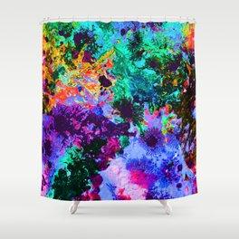 90's Windbreaker Shower Curtain