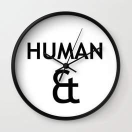 Human et – Humanity Wall Clock