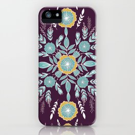 Be a wildflower iPhone Case