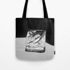 2 Cigarettes In An Ashtray Tote Bag
