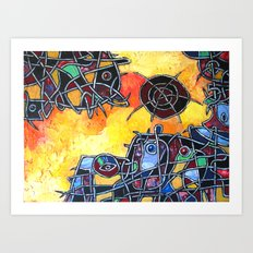 Abstraction #1 Art Print