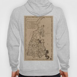 Map of New Hampshire 1794 Hoody