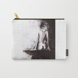 Woman nude Carry-All Pouch