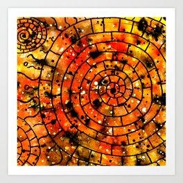 Ornament Maya Art Print