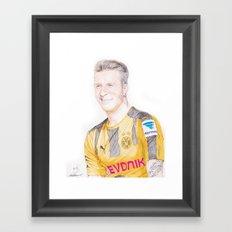 Reus Pen Drawing Framed Art Print