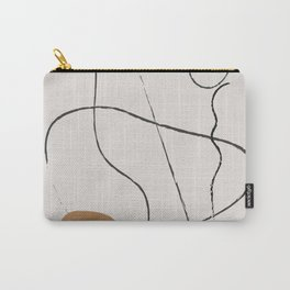 Line Art Abstract,  Carry-All Pouch