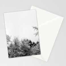 Snow Branches Stationery Cards