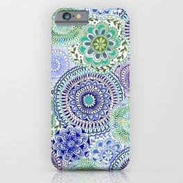 Tossed Mandalas iPhone Case