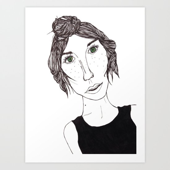 Isbelle Art Print