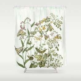 Cultivating my mind garden Shower Curtain