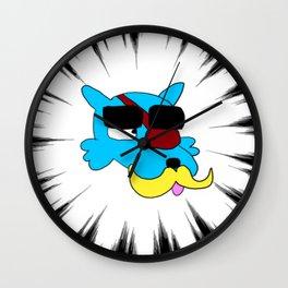 Lazor Wulf Wall Clock