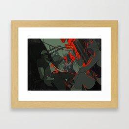 Eastern suburb Framed Art Print