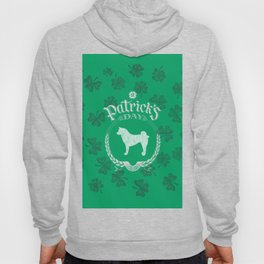 St. Patrick's Day Akita Funny Gifts for Dog Lovers Hoody