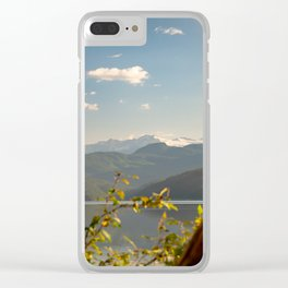 Duncan Lake Four Clear iPhone Case