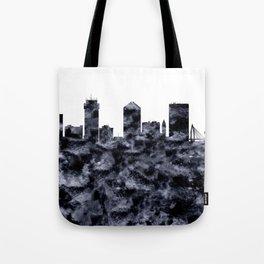 Wichita Skyline Kansas Tote Bag