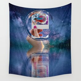 Siamese Fighting Fish by GEN Z Wall Tapestry