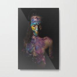 Colors of Women, C.F. 1 Metal Print