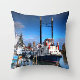 The New Orleans  Throw Pillow