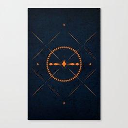 Dark Mistery Canvas Print