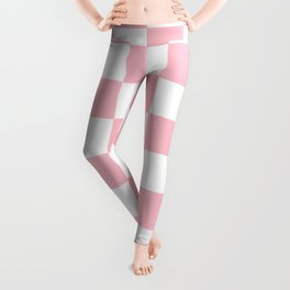 CHECKERBOARD (PINK & WHITE) Leggings