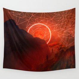 2077 landscape II Wall Tapestry
