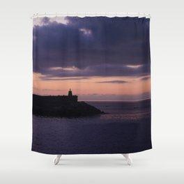 Deba sunset Shower Curtain