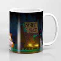gravity falls Mugs featuring Gravity Falls by Ryan John